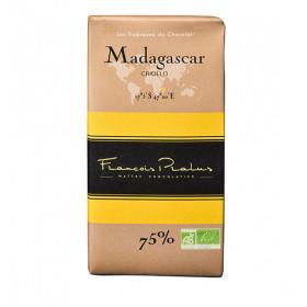Barra de chocolate Pralus deMadagascar