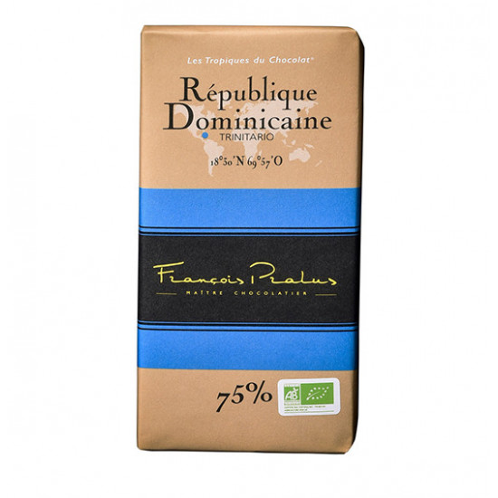 Barra de Chocolate República Dominicana Pralus