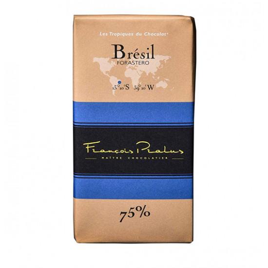 Barra de chocolate Pralus de Brasil