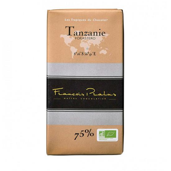 Barra de chocolate Pralus deTanzania