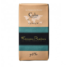 Barra de chocolate Pralus deCuba