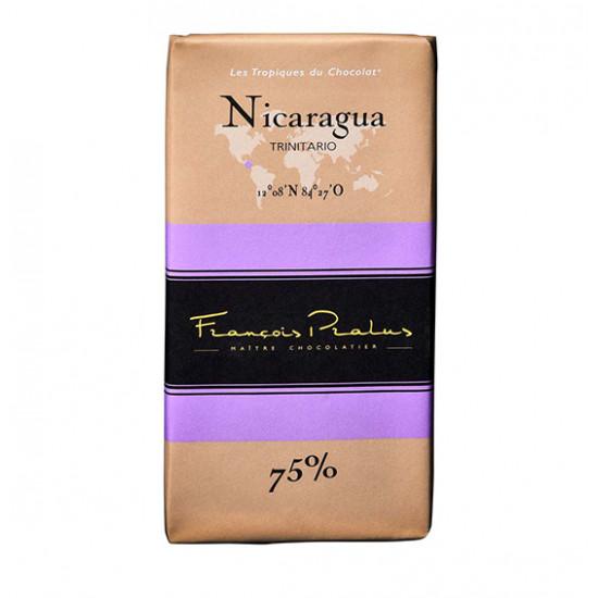 Barra de chocolate Pralus de Nicaragua