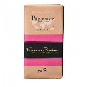 Barra de chocolate Pralus de Papúa