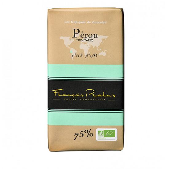 Barra de Chocolaté Perú Pralus