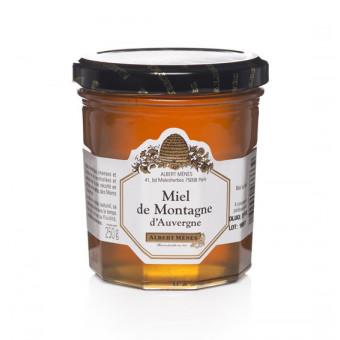 Miel de Montagne  d'Auvergne Albert Ménès