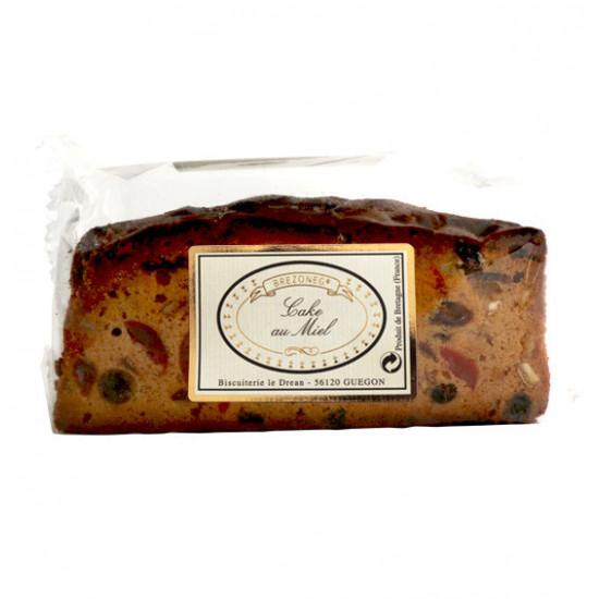 Plum cakecon miel y frutas confitadas Le Dréan