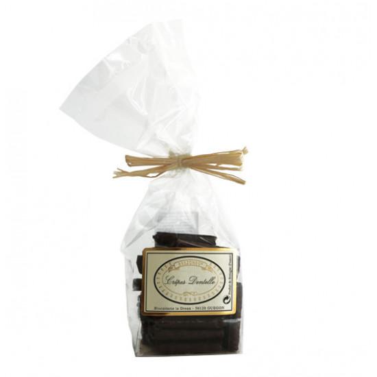 Crêpes dentelles chocolat noir Le Dréan