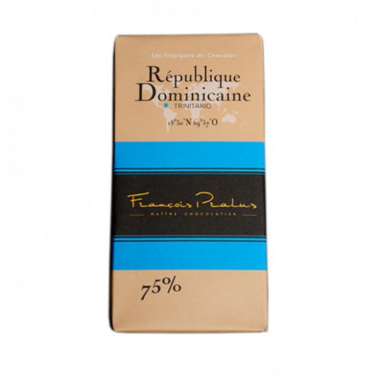 Barra de chocolate Pralus deRepública Dominicana