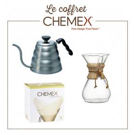 Coffret Filtration Chemex 6 tasses