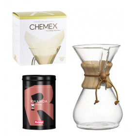 Estuche de filtración Ruanda Chemex