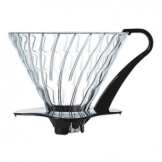 Dripper transparent Hario V60 1/4 tasses