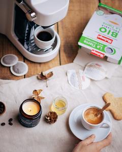 Parce qu'une bonne journée commence toujours par un bon café :) Bon samedi à tous! #Malongo #CafesMalongo #Coffee #Automne
