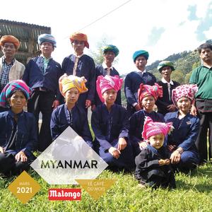 Le #café du mois #Malongo : Myanmar, Commerce Équitable. Ce micro-lot cultivé par les 18 producteurs du village de Bant Sauk a remporté le concours du meilleur café organisé entre les différents villages membres de la coopérative Green Gold. Au Myanmar, Malongo s'est engagé au côté de l'ONUDC dans un programme visant à remplacer la culture du pavot par celle du café. Un projet permettant une transition vers une activité légale, écoresponsable, rémunératrice et pérenne. Un excellent café, très aromatique, équilibré et acidulé présentant des notes de fruits rouges ainsi qu'une belle longueur en bouche. Disponibles en boutiques et sur notre site. #Coffee #FairTrade #CommerceEquitable