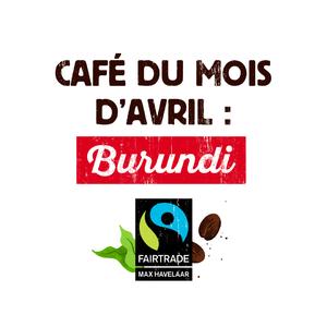 Le #café du mois #Malongo : Burundi, Commerce Equitable. Un café très aromatique et agréablement acidulé, modéré de corps et peu long en bouche, aux belles notes fruitées et boisées, parfois animales. A déguster avec des desserts fruités. Disponible dans nos boutiques et sur notre site internet. #CafesMalongo #Coffee #CommerceEquitable #Fairtrade #Burundi