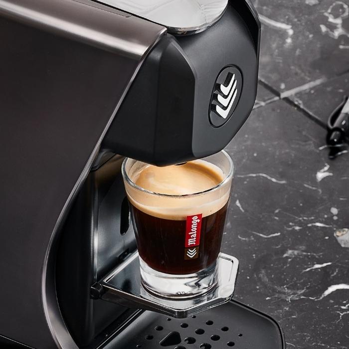 Un café expresso Malongo onctueux