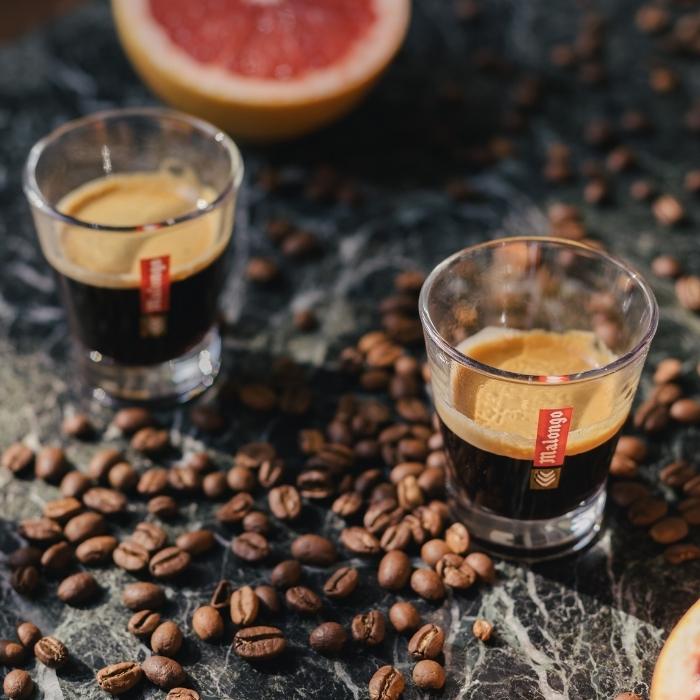 Un café expresso Malongo révélant toutes ses saveurs